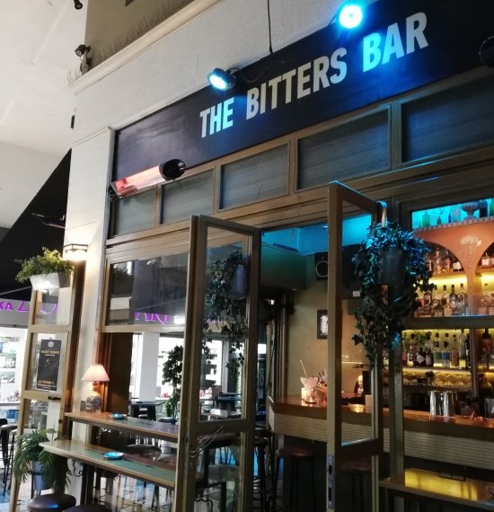 THE BITTERS BAR