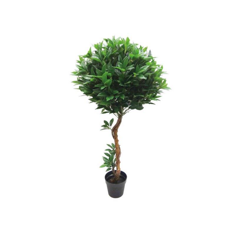 ARTIFICIAL BALL TREE LAUREL 140CM