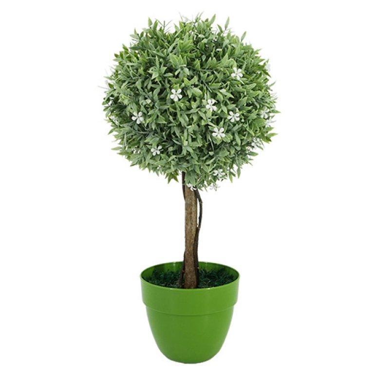 ARTIFICIAL WHITE TREE FLOWER Φ18CM 45CM