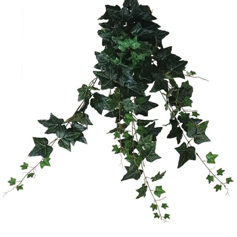 ARTIFICIAL HANGING IVY GREEN 100CM