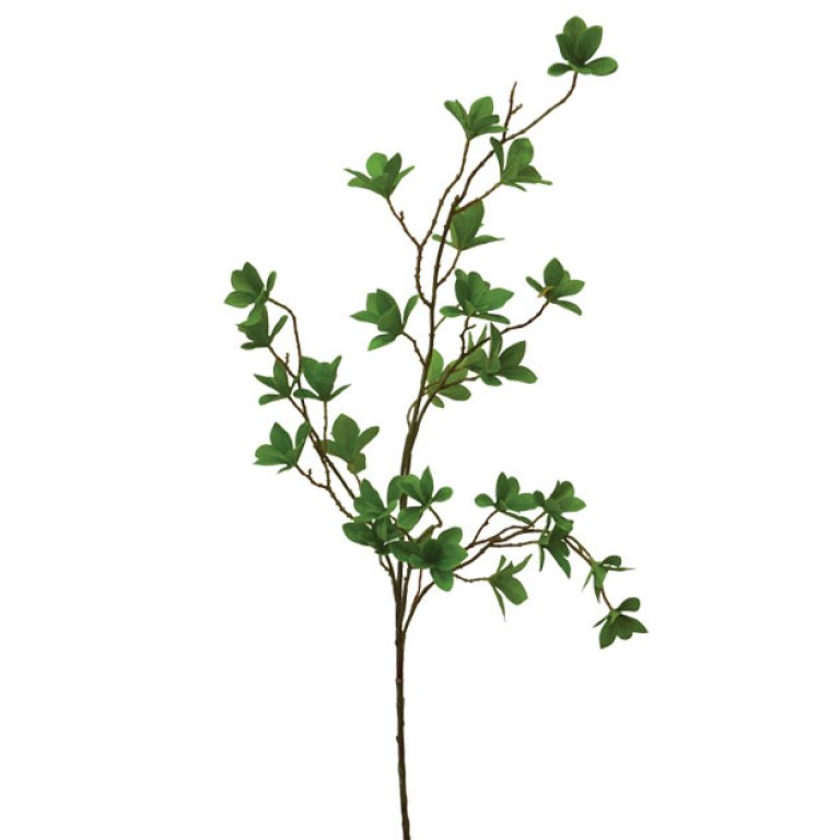 ARTIFICIAL LEAF BRANCH GREEN 110CM