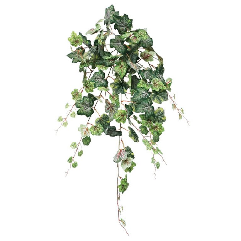 ARTIFICIAL HANGING GRAPELEAF GREEN-RED 90CM