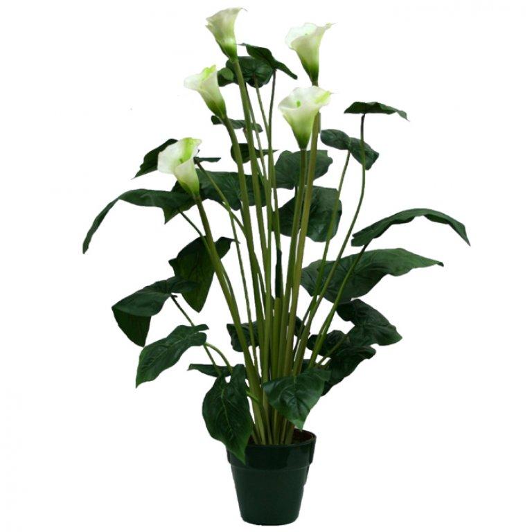ARTIFICIAL CALLA PLANT 95CM