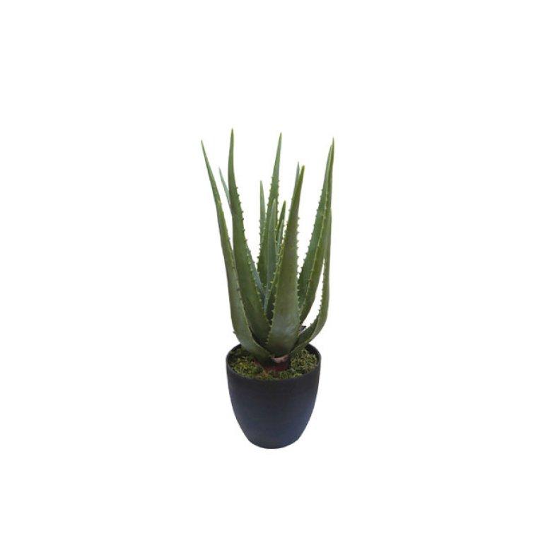ARTIFICIAL ALOE PLANT 47CM