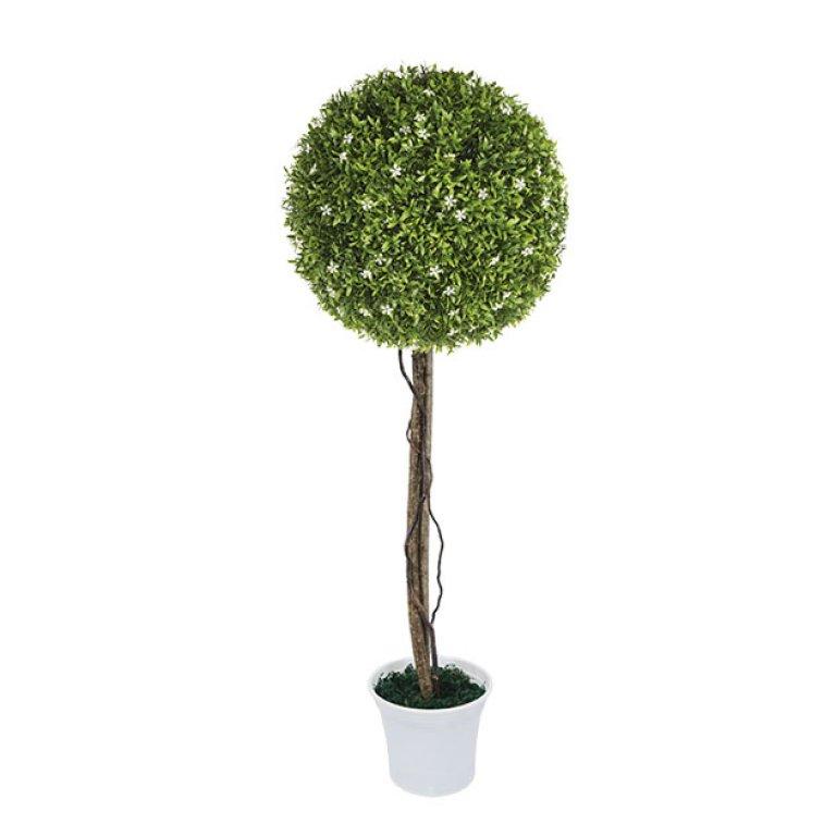 ARTIFICIAL WHITE TREE FLOWER Φ38CM 90ΕΚ