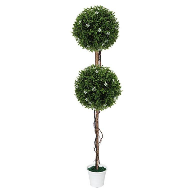 ARTIFICIAL WHITE TREE FLOWER Φ28CM 130CM
