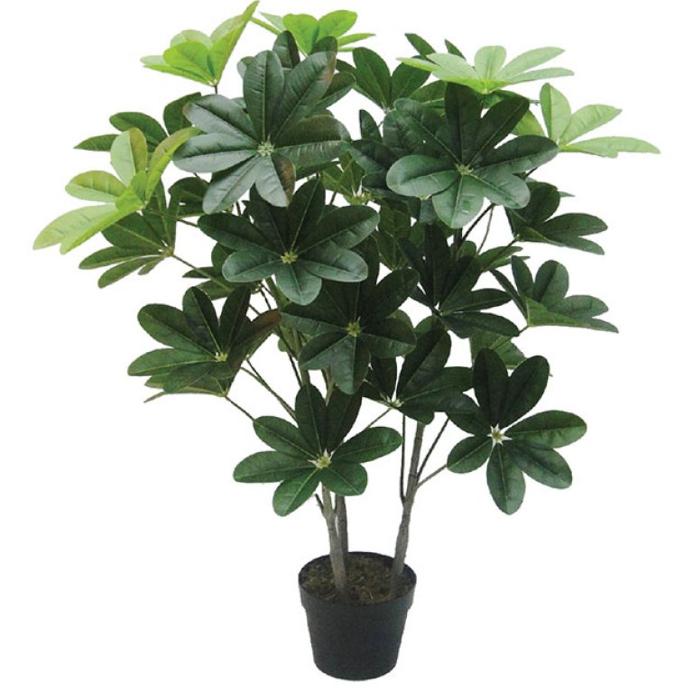 ARTIFICIAL SCHEFFLERA PLANT REAL TOUCH 100CM