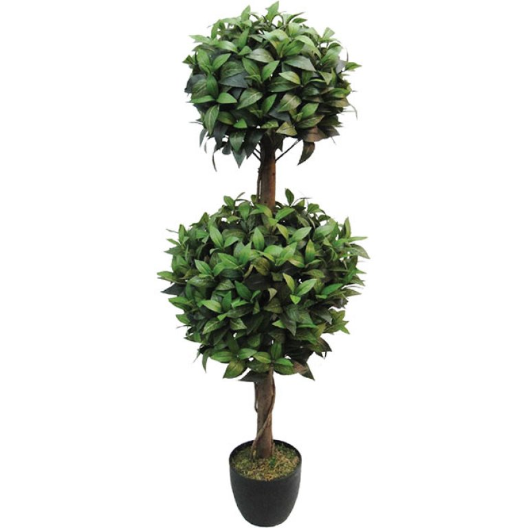 ARTIFICIAL LAUREL TREE REAL TOUCH 120CM