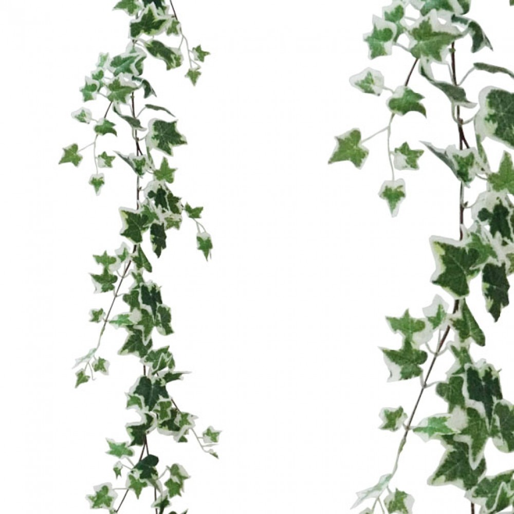 ARTIFICIAL IVY GARLAND TWO COLOURS 170CM