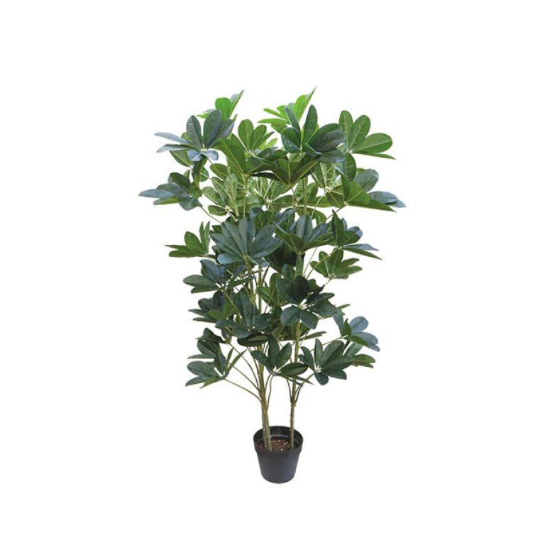 ARTIFICIAL SCHEFFLERA PLANT REAL TOUCH 128CM