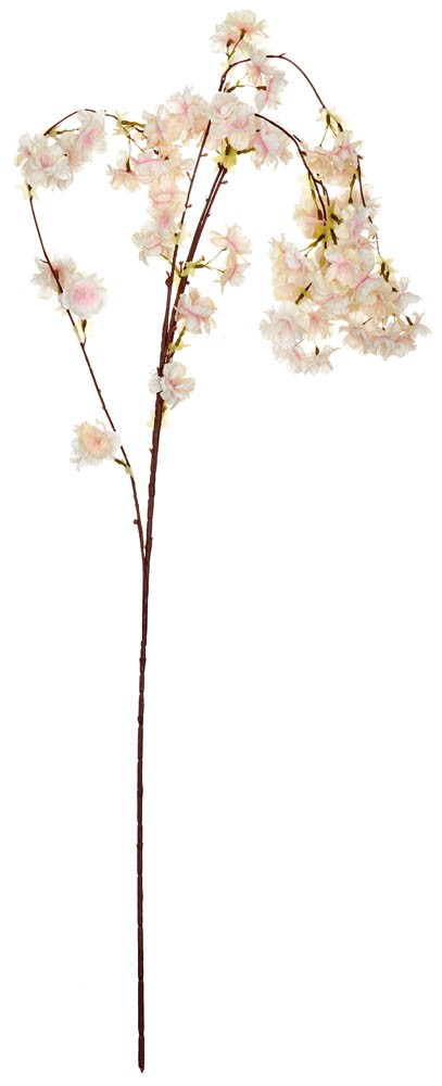 ARTIFICIAL ALMOND BRANCH LIGHT PINK 95CM