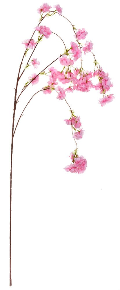 ARTIFICIAL ALMOND BRANCH FUCHSIA 95CM