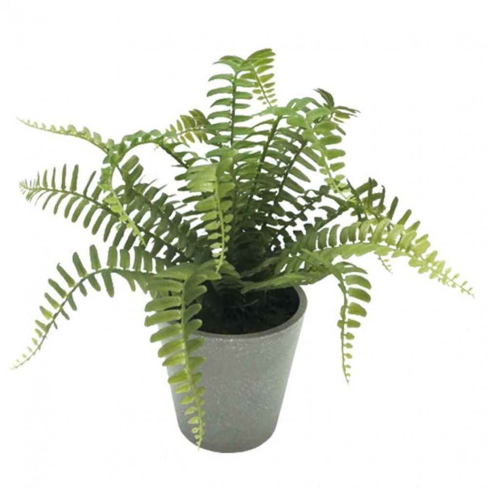 ARTIFICIAL FERN PLANT 28CM