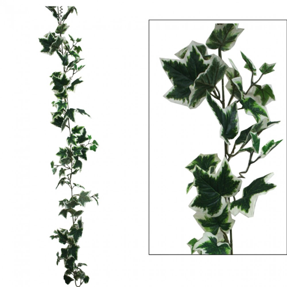 ARTIFICIAL IVY GARLAND TWO COLOURS 180CM
