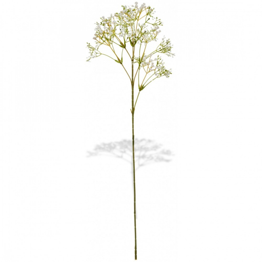 ARTIFICIAL GYPSOPHILA BRANCH WHITE 60CM
