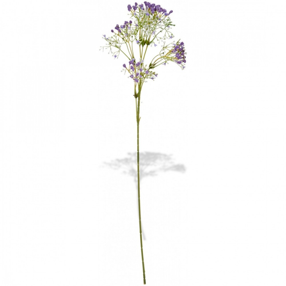 ARTIFICIAL GYPSOPHILA BRANCH PURPLE 60CM
