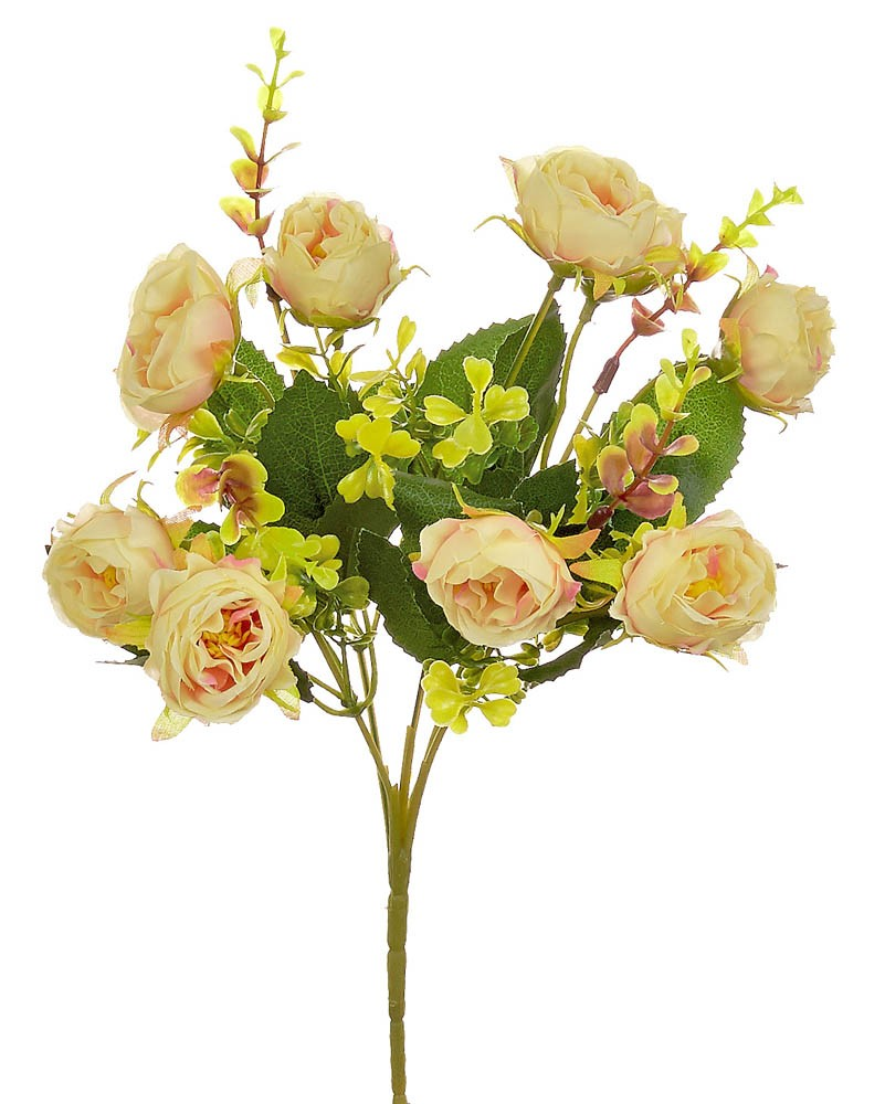 ARTIFICIAL RANUNCOLI BOUQUET CREAM 32CM