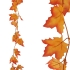 ARTIFICIAL PLATANUS GARLAND ORANGE 100CM