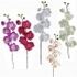 ARTIFICIAL ORCHID BRANCH (5 COLOURS) 72CM