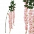 ARTIFICIAL WISTERIA BRANCH PINK 150CM