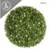 ARTIFICIAL GREEN BALL FLOWER WHITE 48CM
