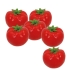 ARTIFICIAL TOMATO (SET 6 PIECES) 7CM