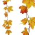 ARTIFICIAL PLATANUS GARLAND YELLOWRED 110CM
