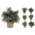 GREENERY IN FLOWER POT (6 PIECES) 28CM