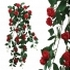 ARTIFICIAL HANGING ROSE RED 90CM
