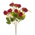 ARTIFICIAL RANUNCOLI BOUQUET RED 32CM