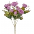 ARTIFICIAL ROSE BOUQUET LILAC 35CM