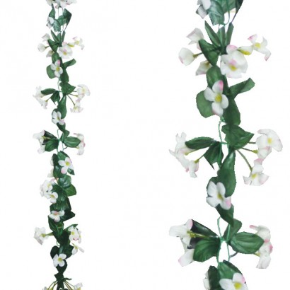 ARTIFICIAL LILY GARLAND CHAMPAGNE 220CM