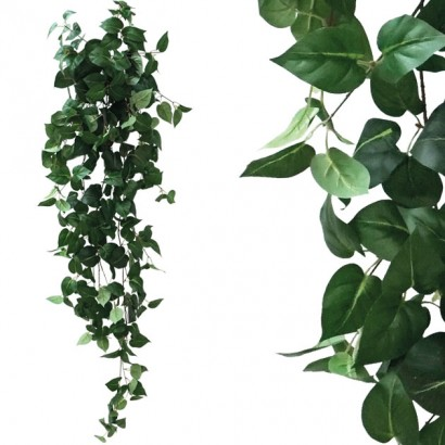 ARTIFICIAL HANGING POTHOS GREEN 130CM