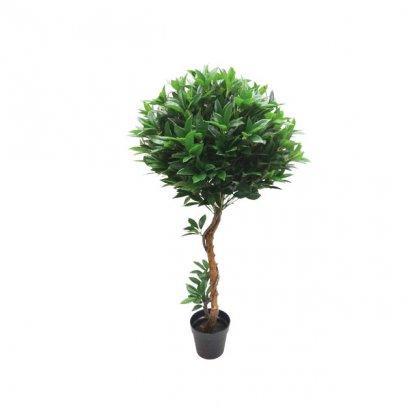 ARTIFICIAL BALL TREE LAUREL 140CM - 1