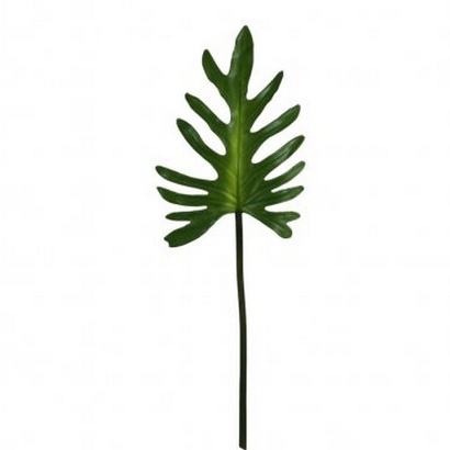 ARTIFICIAL LEAF BRANCH GREEN 89CM - 1