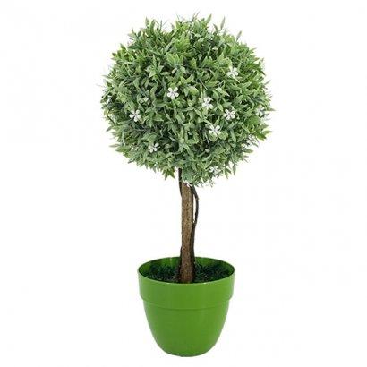 ARTIFICIAL WHITE TREE FLOWER Φ18CM 45CM - 1