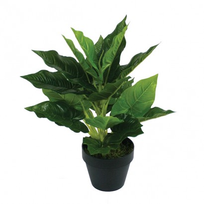 ARTIFICIAL ANTHURIUM PLANT REAL TOUCH 42CM - 1