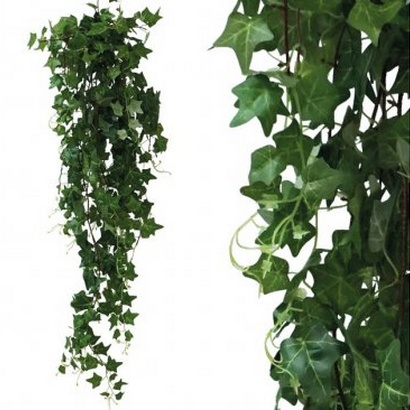 ARTIFICIAL HANGING IVY GREEN 130CM