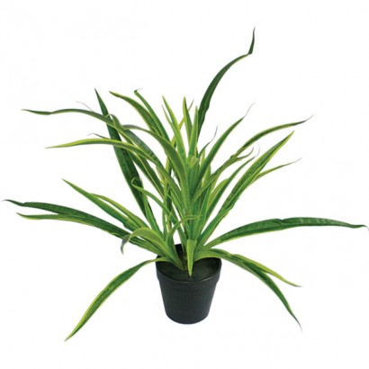 ARTIFICIAL SPIDER PLANT REAL TOUCH 33CM - 1