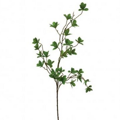 ARTIFICIAL LEAF BRANCH GREEN 110CM - 1