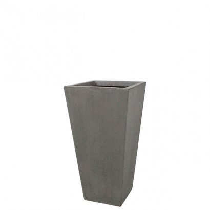 FLOWER POT MEDIUM GREY/BROWN 23.5x46.5CM - 1