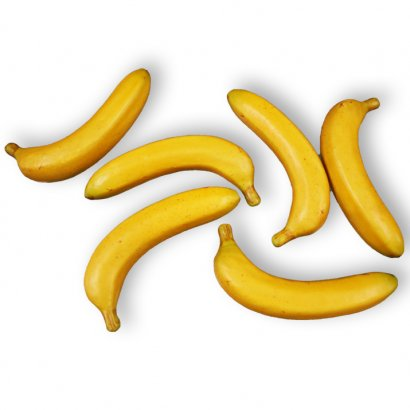 ARTIFICIAL BANANA (SET 6 PIECES) 20CM