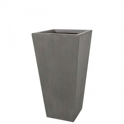 FLOWER POT LARGE GREY/BROWN 32x61CM - 1