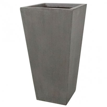 FLOWER POT XLARGE GREY/BROWN 42x90CM - 1