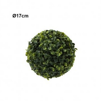 ARTIFICIAL GREEN BALL TREFOIL 17CM