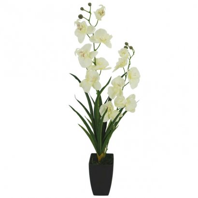 ORCHID IN FLOWER POT CHAMPAGNE 73CM