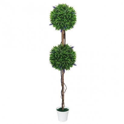 ARTIFICIAL LAVENDER TREE Φ28CM 130CM - 1