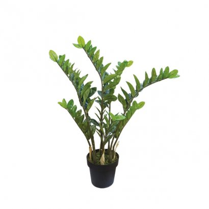 ARTIFICIAL ZAMIA PLANT REAL TOUCH 95CM - 1
