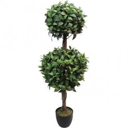 ARTIFICIAL LAUREL TREE REAL TOUCH 120CM - 1