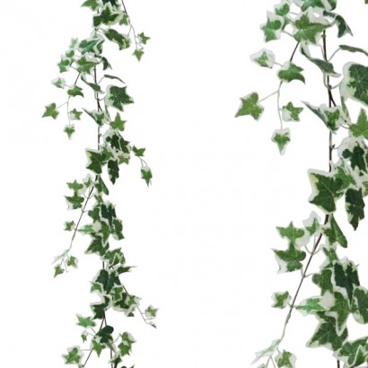 ARTIFICIAL IVY GARLAND TWO COLOURS 170CM - 1